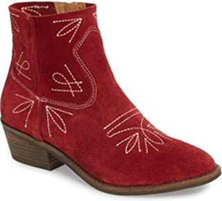 lucky brand red cowboy boots
