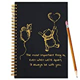 Slothoem I'll Always Be With You | Inspirational winnie the pooh Spiral Notebook/Journal | Motivationa Birthday Christmas Graduation Gift for Friends/sisters