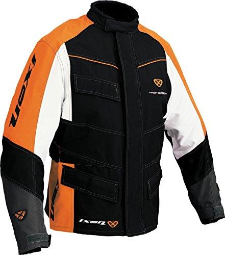 IXON AUTOMATIC Jacke schwarz/orange/weiss L