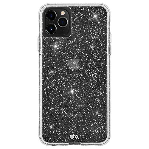 Case-Mate - Sheer Crystal - Case for iPhone 11 Pro - Sparkle - Protective Design - 5.8 inch - Crystal Clear