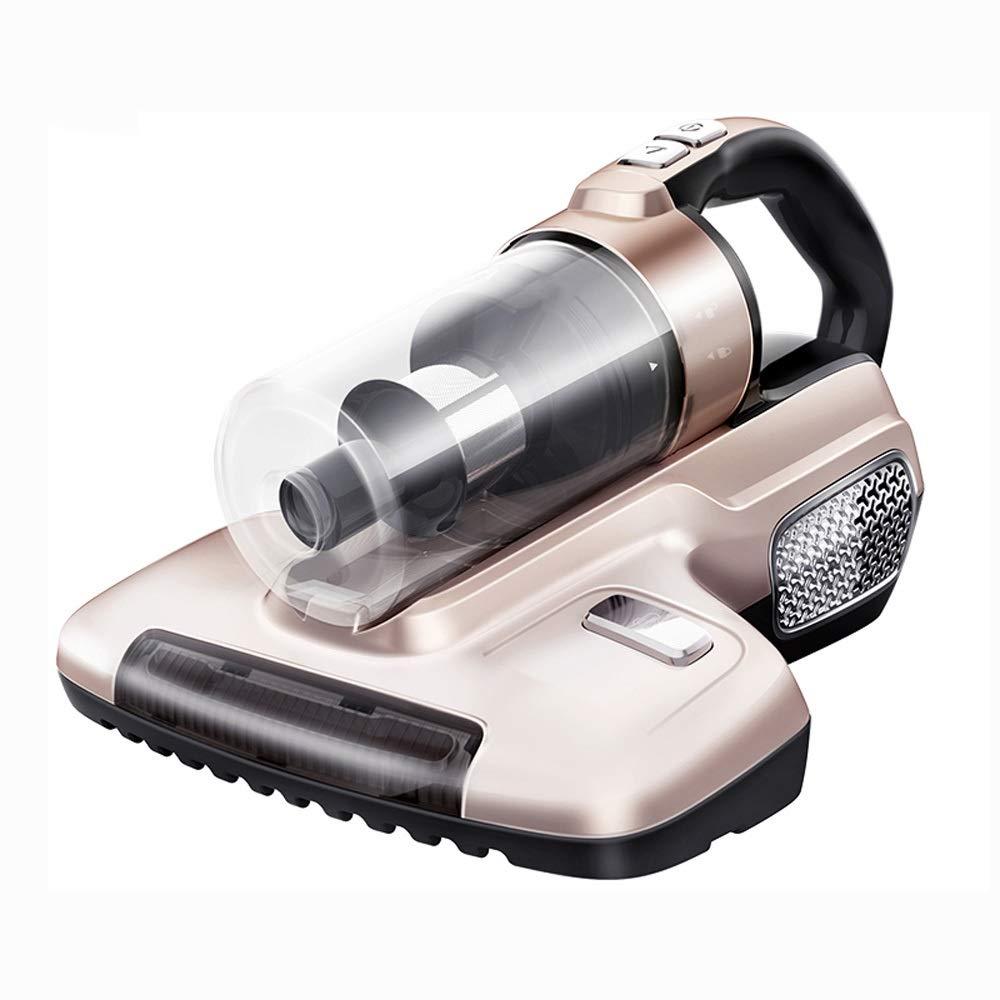 TYUIO Aspirador del Coche sin Cables, ácaros inalámbricas, hogar Cama pequeña UV colector de Polvo de la Alfombra de Oro (37x28x22.5cm): Amazon.es: Hogar