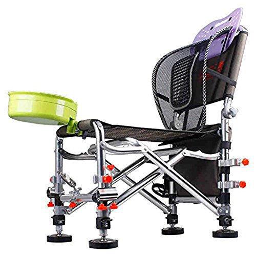 TSJT Chaise de sac de pêche,tabouret léger portable pliant en plein air pour picnic Barbecue Sketch Fishing , C