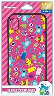 PGA iPhone XR用 ハイブリッドタフケース モンスターズ・インク PG-DCS495MOI