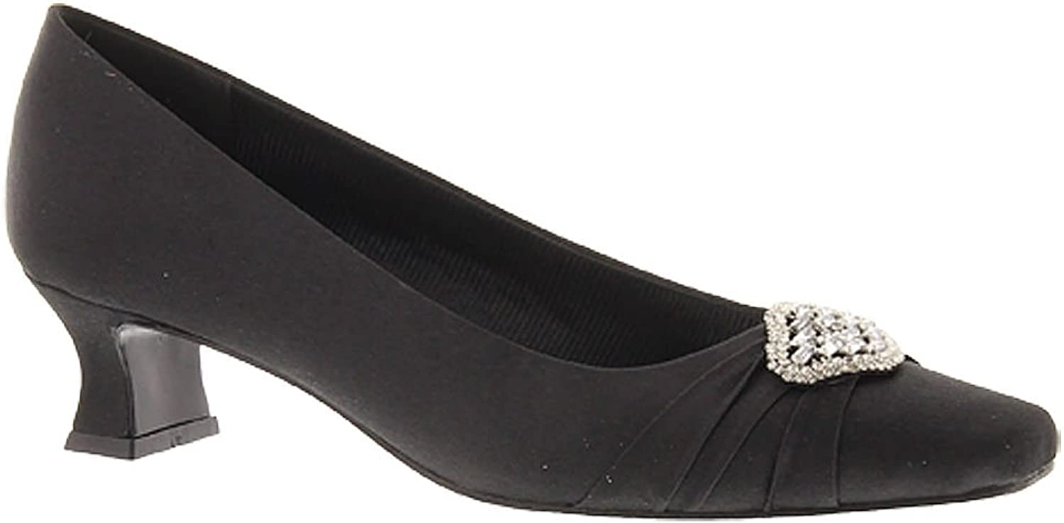 Easy Street Womens Mystery Square Toe Classic Pumps