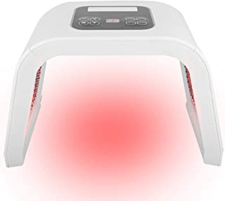 Led gezichtsmasker, 4 soorten 7 kleuren PDT LED-licht Schoonheid Fotodynamische lamp Acnebehandeling Huidverjonging Machin...