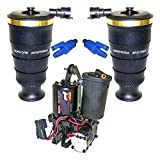 Suncore 40F-15-R-KIT Air Suspension System Incl. Rear Air Spring Bags Compressor w/Dryer 2 Solenoids Air Suspension System