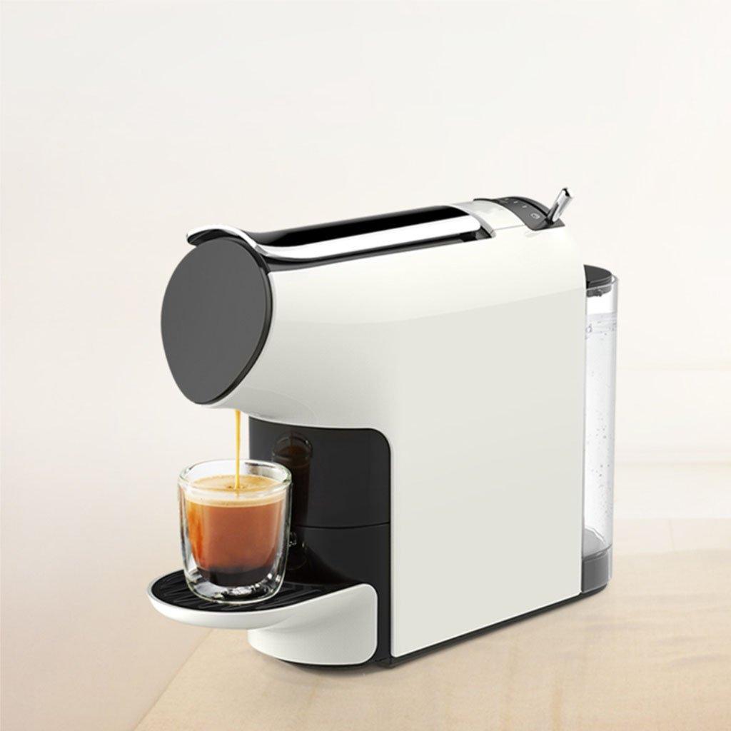 Casa- Maquina de cafe Capsule Coffee Machine Home Automatic Cafetera Blanca: Amazon.es: Hogar