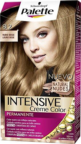 Palette Intense - Tono 8.2 Rubio Beige - Coloración Permanente - Schwarzkopf