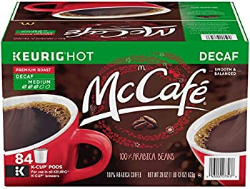 84-Count McCafe Decaf Premium Medium Roast K-Cup Coffee Pods