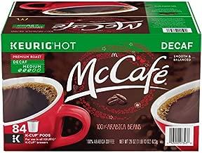 McCafe Premium Roast Decaf Coffee K-Cup Pods, 84 ct - 29.0 oz Box