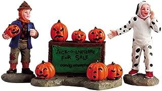 Lemax Spooky Town Village Collection Jack-o-Lantern Sales Figurine #52104
