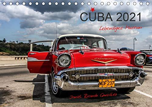 Cuba - Lebendiges Museum (Tischkalender 2021 DIN A5 quer)