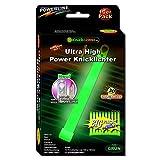 10 Knicklichter Leuchtstäbe GRÜN | 45 Minuten intensivst |150 x 15 mm | Ultra High Power