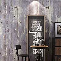 壁紙、レトロなまだら工業用風不織布の壁画ノスタルジック3Dエンボスバーレストランカフェ壁紙 (Color : 2)