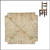 Asiento de paja de repuesto para silla, asiento, fondo, taberna 03