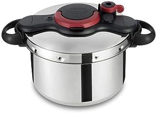 tefal Clipso Minut Easy Pressure Cooker Silver/Black 6 liter