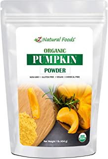 Organic Pumpkin Powder - Make Delicious Pumpkin Spice Lattes & Coffee - Plant Based Superfood Supplement For Cooking & Bak...