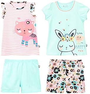 cc5efa4e8ad5e Petit Béguin - Lot de 2 pyjamas fille Power Flower - Taille - 10 ans