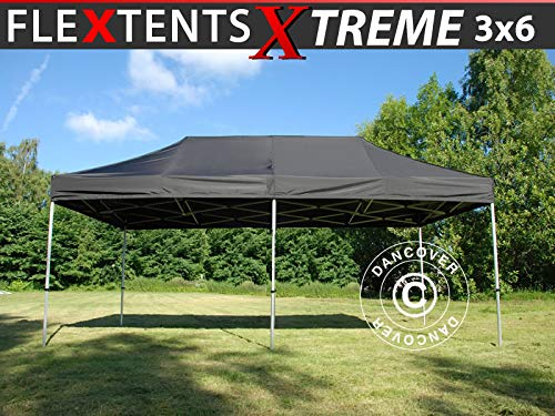 Dancover Vouwtent/Easy up tent FleXtent Xtreme 60 3x6m Zwart