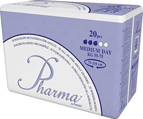 Pharma Slip Windeln mit Folie - Tag - Medium