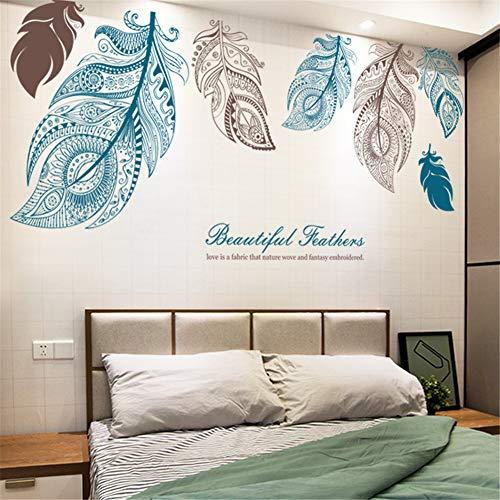 Calcomanía de pared para sala de estar/dormitorio decoración del hogar/vinilo autoadhesivo...