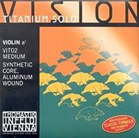 CUERDA VIOLIN - Thomastik (Vision Titanium/Vit02) (Alma Sintetica/Hydronalium) 2ェ Medium Violin 4/4