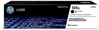 Toner HP 105A Preto Laser Original (W1105A)