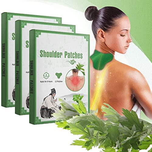 DBTOOTHBRUSH Patch biologica per drenaggio del collo, per alleviare il dolore e alleviare il dolore e alleviare il dolore (36 pezzi)