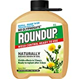 Best Natural Weed Killers - Roundup 119876 Naturals Glyphosate-Free Powerful Weedkiller REFILL Review