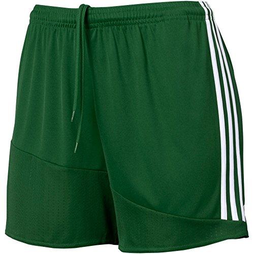 Adidas Women's Regista 16 Shorts, Collegiate Green/White, M/M