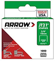 Arrow 276 Genuine JT21/T27 3/8-Inch Staples, 1,000-Count [並行輸入品]