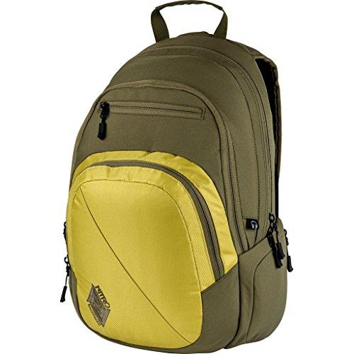 Nitro Stash Rucksack, Schulrucksack, Schoolbag, Daypack, Golden Mud, 49 x 32 x 22 cm, 29 L,
