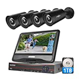 """Best Surveillance Systems - Hiseeu 5MP Wired Security Camera System with 10"""" Review"""
