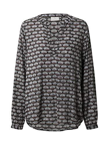 KAFFE Damen Bluse Eva grau 40 (L)