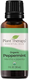 Sponsored Ad - Plant Therapy Organic Peppermint Essential Oil 100% Pure, USDA Certified Organic, Undiluted, Natural Aromat...