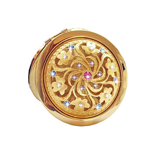 Mini Maquillage pliante Portable Cosmetic pliant Voyage Pocket Mirror Compact