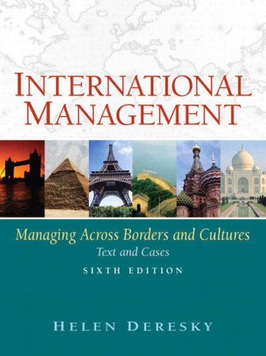 International Management: Managing Across Borders and Cultures: Text and Cases