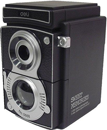 アンティーク 調 二眼レフ カメラ 型 手動 鉛筆削り 器 ペンシルシャープナー(No.668) [並行輸入品]