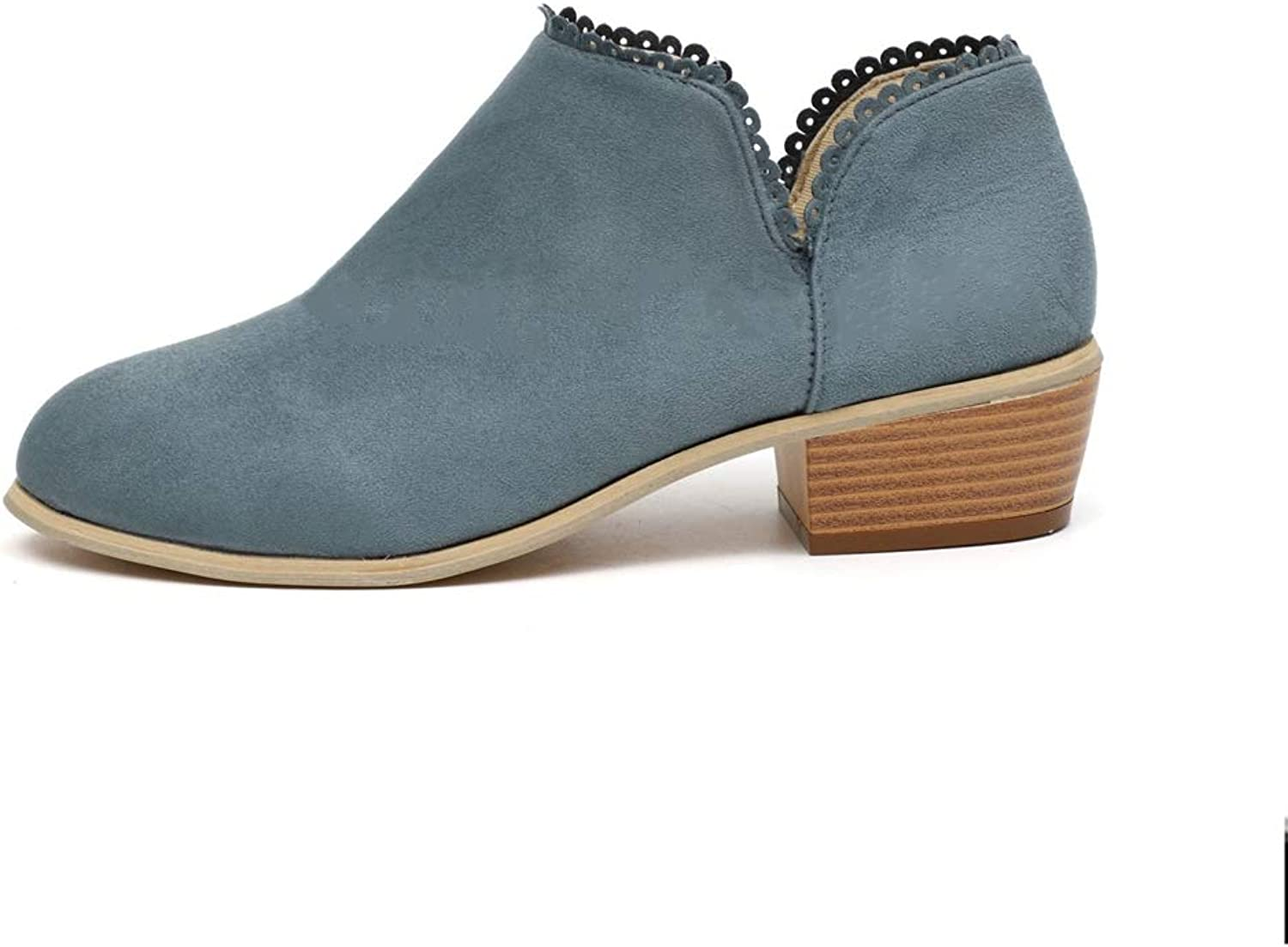 Eric Carl Womens Fashion Short Boot Low Heel Ankle Boots