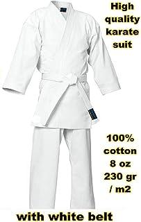 mmasport - Kimono de Karate 100% algodón, 230 g