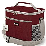 Lunch Bag,Lunch Box,Insulated Lunch Bag Box,Lunch Box for Men/Women,Lunch Bag for Women/Men,Reusable Bag,Beach Cooler Bag,Lunch Bag Cooler,Leakproof Lunch Box for Office School Picnic Beach