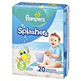 Pampers Splashers Swim Diapers Size S 20 Count