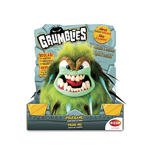 Grumblies – Tremor Toy Electronic, Green (Bizak, S.A. 63341891 _ 4)