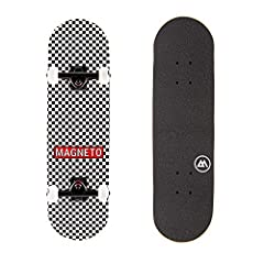 "27.5"" x 7.75"" Compact skateboard designed specifically for kids ages 5-15 years old Deck is made with 7 plies of hard maple with double kicktails on the front and back of the board. Ready to ride out of the box with 5"" aluminum trucks with a steel ax..."