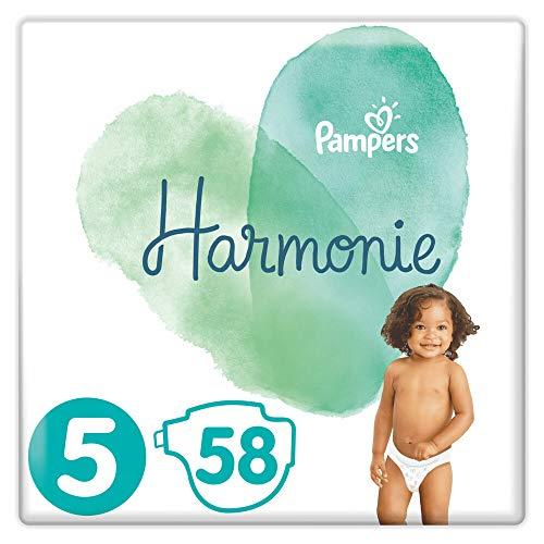 Pampers Harmonie 58 Windeln, Größe 5, 11+ kg