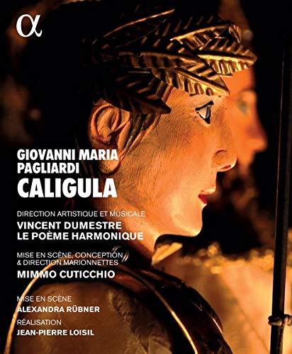 Giovanni Maria Pagliardi: Caligula - Oper in drei Akten, Venedig 1672 [Blu-ray]