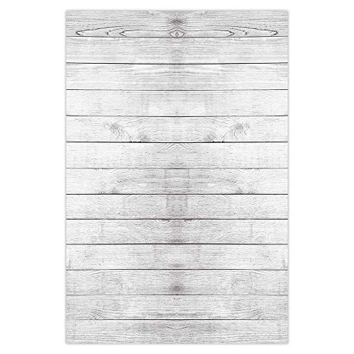 Funnytree 3x5ft Rustic Wooden Board Backdrop Vintage Faux Wood Photography Background Baby Shower Portrait Party Decorations Photo Studio Banner Photobooth Props Favors Supplies