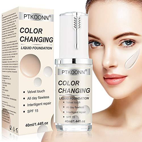 Base de maquillaje natural PTKOONN