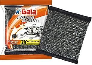 Gala Super Scrub Set – Made of Steel – Black (Pack of 8)