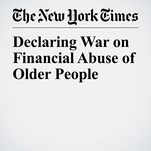 Declaring War on Financial Abuse of Older People copertina